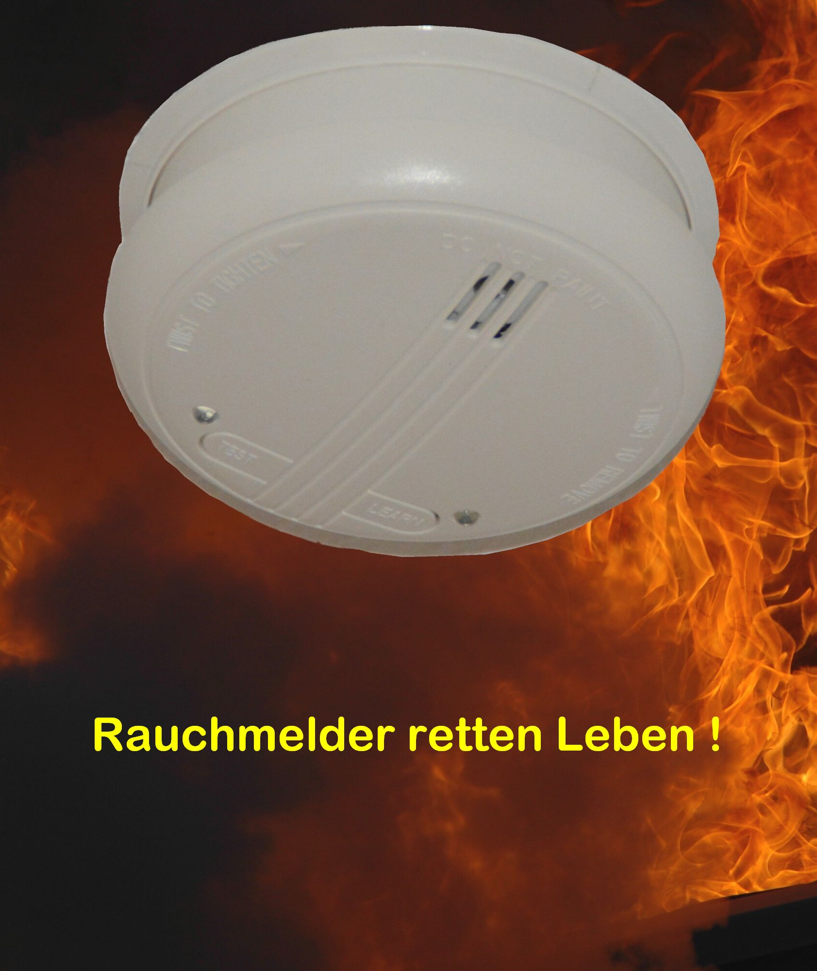 Rauchmelder Text